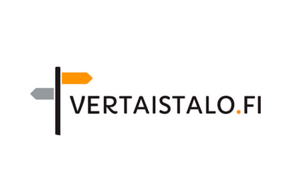 Vertaistalon logo.