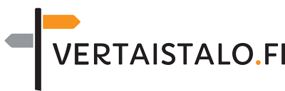 Vertaistalon logo.